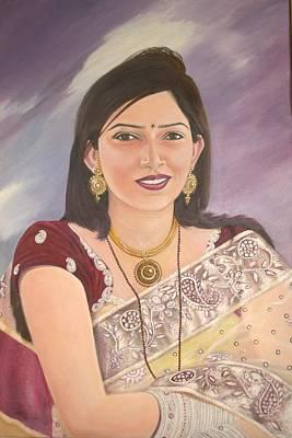 My Lovely Daughter Print by Devendra Jawaji