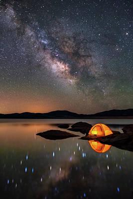 Darren Photograph - My Million Star Hotel by Darren White