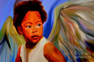 My Name Is Angel Of Life Original by Felix Von Altersheim