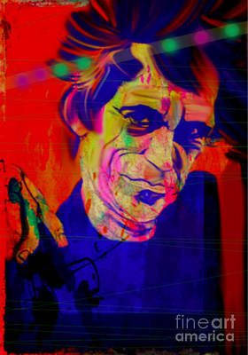 My Name Is Keith Richards Rolling Stones Original by Felix Von Altersheim