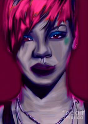 My Name Is Rihanna By Felix Von Altersheim Original by Felix Von Altersheim