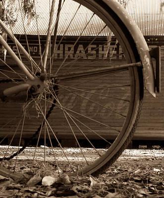 My Old Bike Print by David Lee Thompson