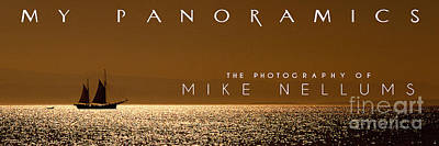 Book Jacket Design Photograph - My Panoramics Coffee Table Book Cover by Mike Nellums