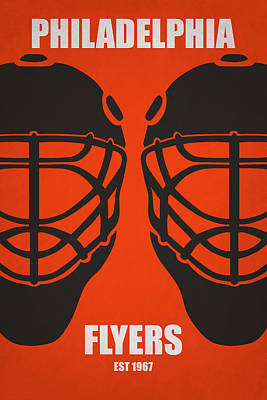 My Philadelphia Flyers Print by Joe Hamilton