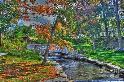My Secret Garden-fall Time Print by Robert Pearson