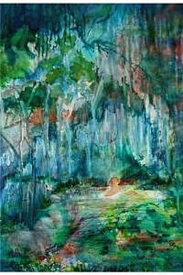 Painting - My Secret Place by Charlotte Bailey Rierson