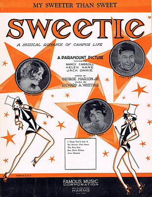 Musical Film Photograph - My Sweeter Than Sweet by Mel Thompson