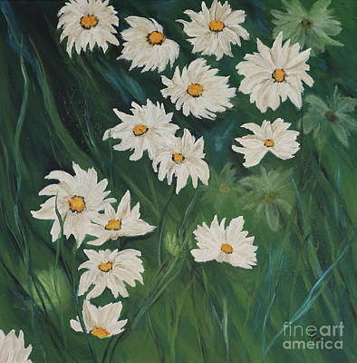 Enjoyment Mixed Media - My Sweet Daisies  by Christiane Schulze Art And Photography