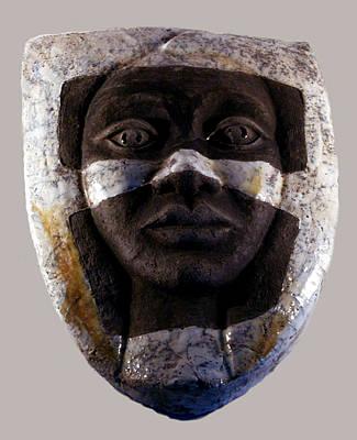 Ceramic Relief Relief - My Veils I by Madalena Lobao-Tello