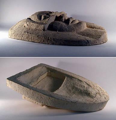 Ceramic Relief Relief - My Veils II by Madalena Lobao-Tello