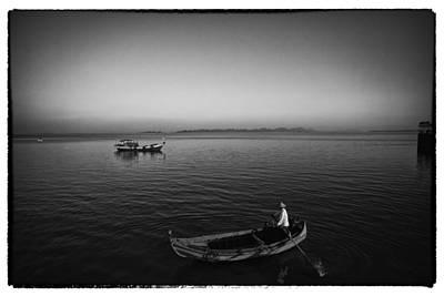 Digital Photograph - Myanmar Lost In Time 9 by David Longstreath