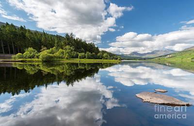 Canoe Photograph - Mymbyr Lake by Adrian Evans
