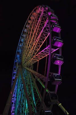 Myrtle Beach Skywheel Original by Suzanne Gaff