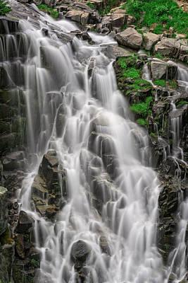 Mt Rainier National Park Photograph - Myrtle Falls by Rick Berk