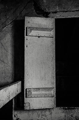 Photograph - Mysterious Attic Door  by Off The Beaten Path Photography - Andrew Alexander