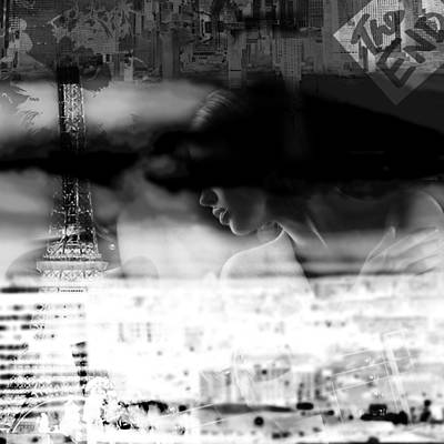 Digital Art - mysterious day in Paris part 2 by Toppart Sweden