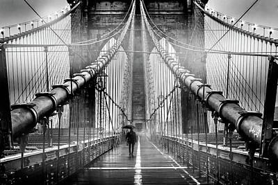 New York Photograph - Mystery Manhattan by Az Jackson