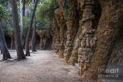Barcelona Mixed Media - Mystery Park by Svetlana Sewell