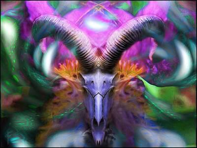Vivid Colors Photograph - Mystic Flower  by Daniel  Arrhakis