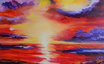 Mystic Morning Original by Meike Aton