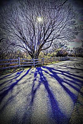 Plein Air Digital Art - Mystic Shadows by Lilia D