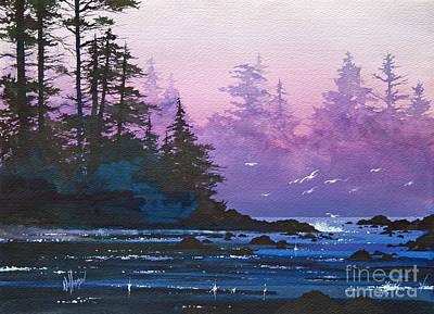 Mystic Shore Print by James Williamson