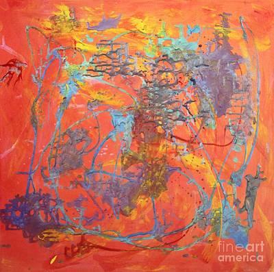 Mystifying Painting - Mystify  by Karen Vaillancourt