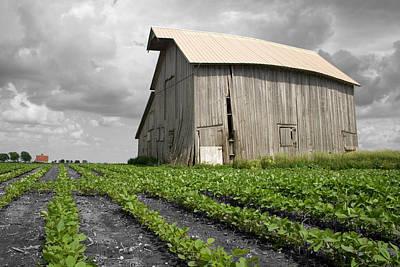 Farms-n-barns Photograph - N 1650 East by Dylan Punke