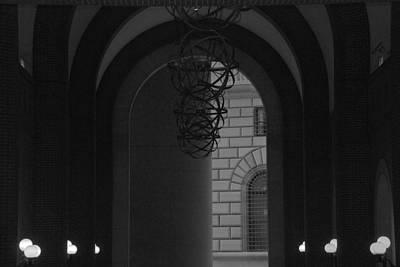 N Y C Lighted Arch Print by Rob Hans