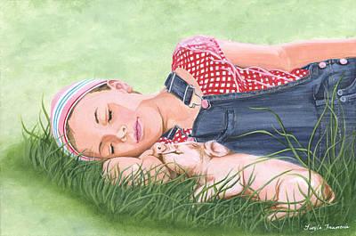 Nap Time Together Original by Twyla Francois