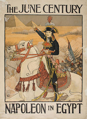 Napoleon In Egypt Print by Celestial Images