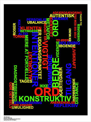 Digital Art - Narrativ Taenkning Danish by Asbjorn Lonvig