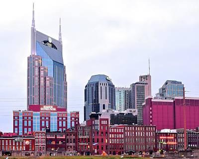 Downtown Nashville Photograph - Nashville 8 X 10 by Frozen in Time Fine Art Photography