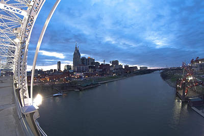 Nashville Skyline Photograph - Nashville Skyline by Sven Brogren