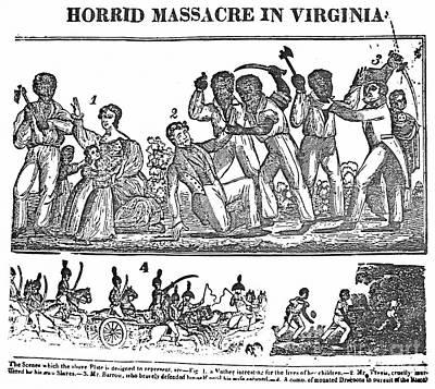 Nat Turner Rebellion, 1831 Print by Granger