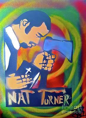 Conscious Painting - Nat Turner's Prayer by Tony B Conscious