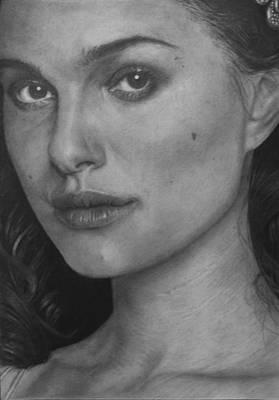 Thor Drawing - Natalie Portman by Yulia Guseva
