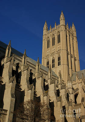 Washingtondc Photograph - National Cathedral 2 by David Pettit
