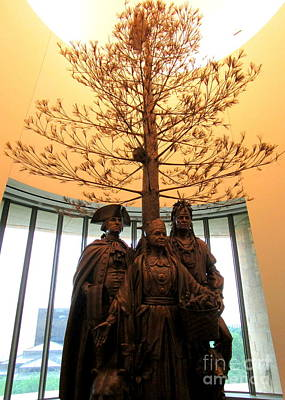Smithsonian Museum Photograph - National Museum Of The American Indian 7 by Randall Weidner