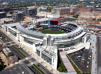Nationals Park Print by Carol Highsmith