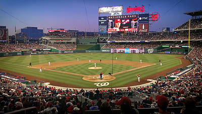 Nationals Park - Home Of The Washington Nationals Print by Pixabay