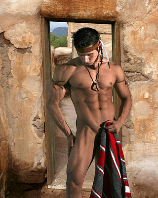 Physique Photograph - Native American II by Dan Nelson