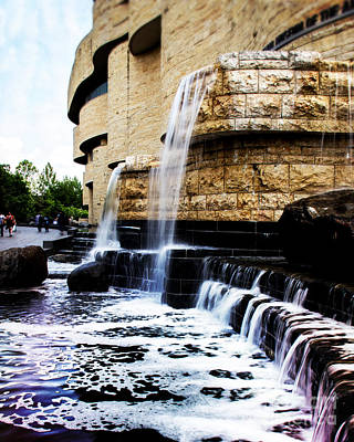 Landscape Photograph - Native American Waterfalls by Tom Gari Gallery-Three-Photography