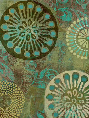 Native Elements Print by Mindy Sommers
