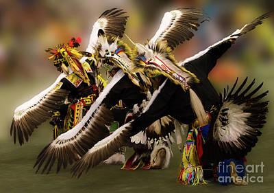 Fly Like An Eagle  Print by Bob Christopher