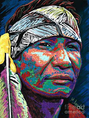 Painting - Native Pride by Maria Arango