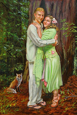 Painting - Natural Love by Dominique Amendola