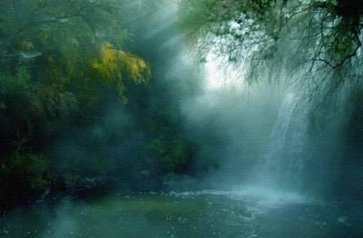 Dreamscape Mixed Media - Nature's Mystique by Georgiana Romanovna