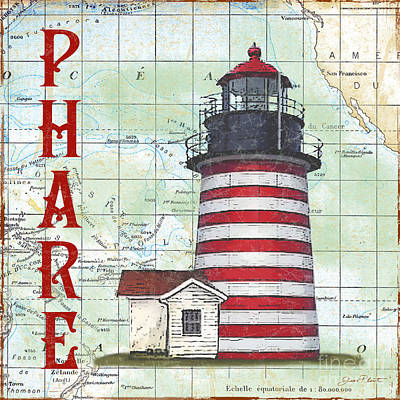 Nautical Journey-jp3074 Print by Jean Plout