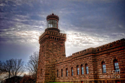 Habor Photograph - Navesink Twin Lighthouse by Paul Ward
